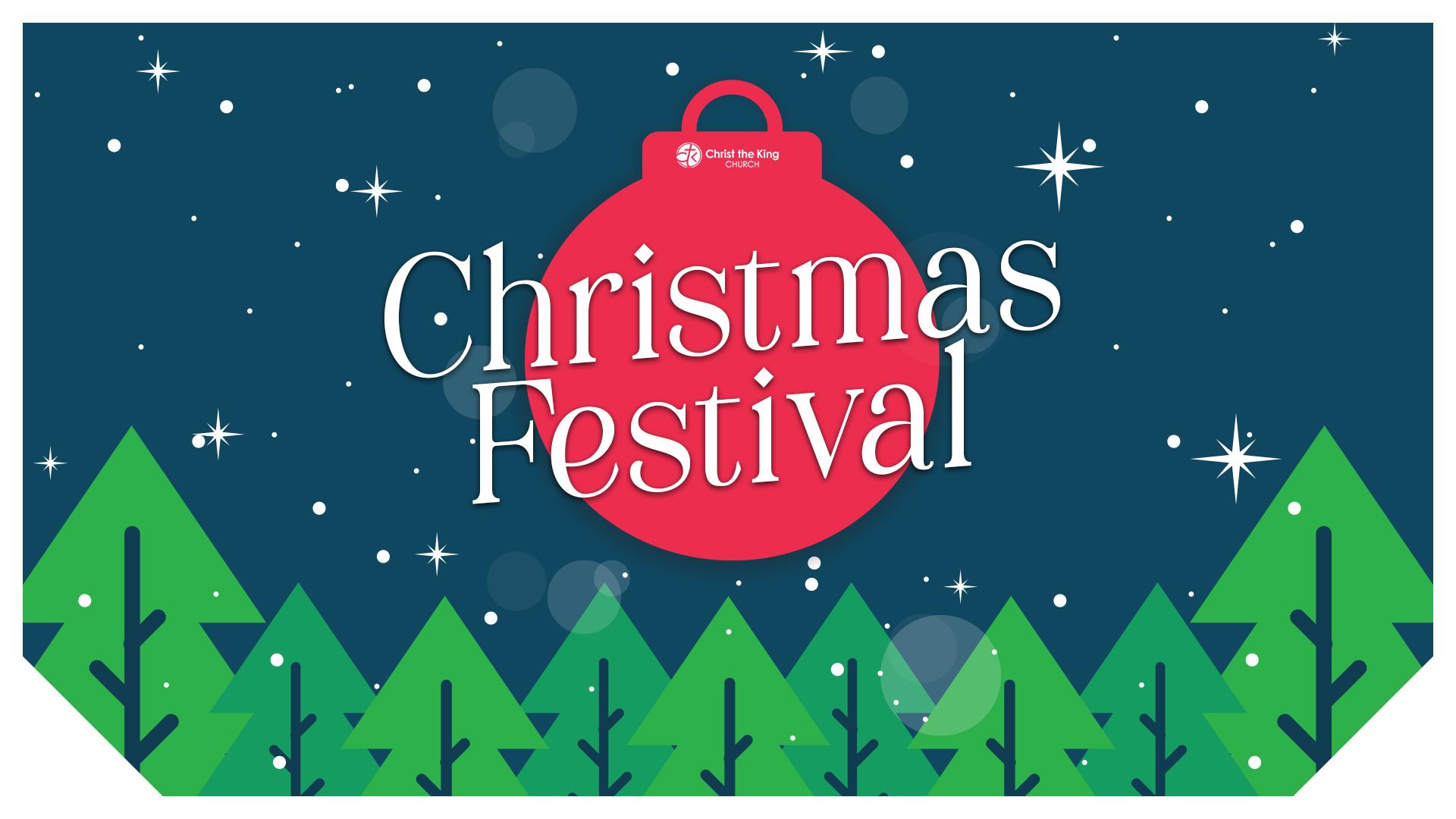 Christmas Festival title